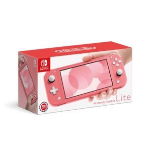 任天堂 Nintendo Switch Lite 主機 珊瑚色