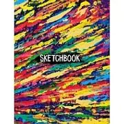 """Sketch Book For Teen Girls and boys: 8.5"""" X 11"""", Personalized Artist Sketchbook: 120 pages, Sketching, Drawing and Creative Doodling."""
