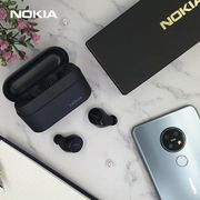 (免運)2020新款式) Nokia Power Earbuds真無線超長待藍牙耳機BH-605(霧碳黑)