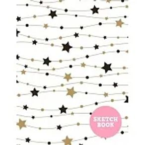 Sketch Book Pretty Note Pad for Drawing, Writing, Painting, Sketching or Doodling - Art Supplies for Kids, Boys, Girls, Teens Who