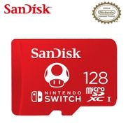 【SanDisk】Nintendo SWITCH 專用 microSDXC 128GB 記憶卡