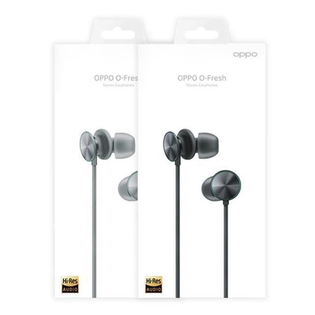 【OPPO】O-Fresh 原廠立體聲耳機 3.5mm(台灣公司貨)