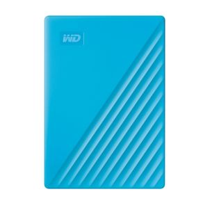 "WD 2.5"" 4TB My Passport 藍 行動硬碟"